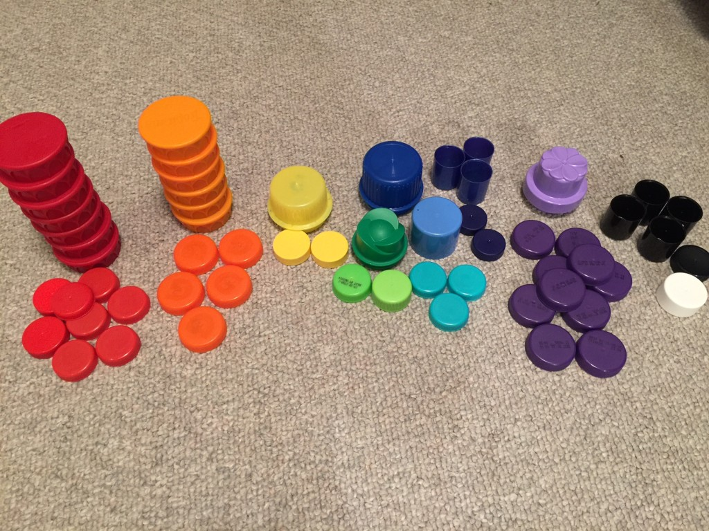 sorting-bottle-caps